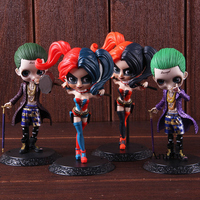 "New Q posket 6/"" Suicide Squad Harley Quinn PVC Action Figure"