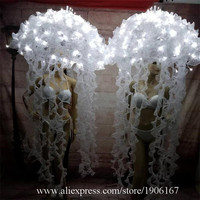 Led Luminous Sexy Lady Party Ballet Jellyfish Led Lighting Stage Performance Dance Props Led Light Up Halloween Dance S