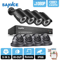 ANNKE 16CH 960H HDMI DVR 900TVL Night Vision Home CCTV Security Camera System