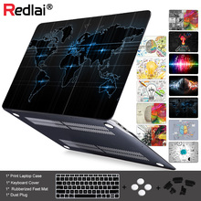 Unique Left and Right Brain Pattern Air 13 11  Crystal Clear Case For Macbook Pro Retina 15 Hard Cover Mac book 12