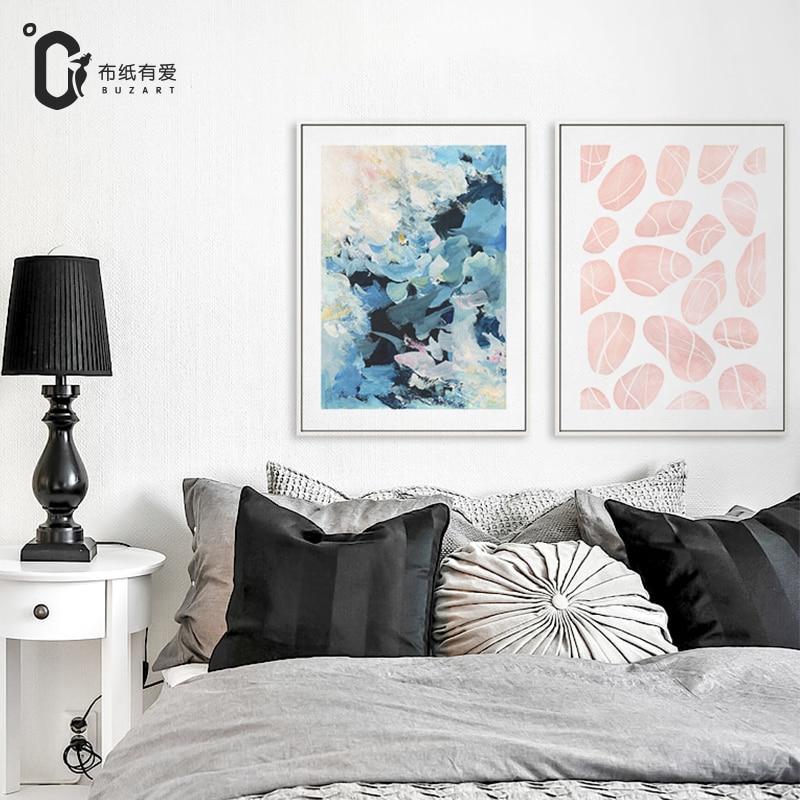 Zebra Modern Black White Minimalist Poster Prints Animal Canvas ...