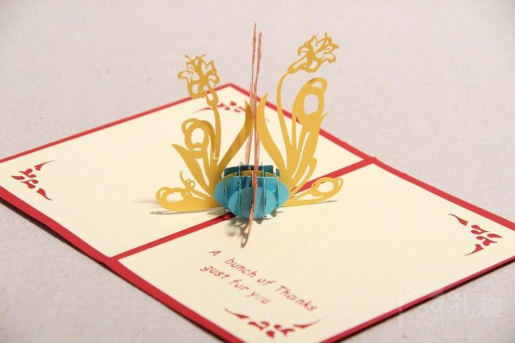 Greetings cards diy creative handmade 3d pop up cards greeting gift greetings cards diy creative handmade 3d pop up cards greeting gift cards hq1250 on aliexpress alibaba group m4hsunfo