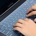 Impermeable portátil teclado película protectora 15 cubierta de teclado del ordenador portátil 15,6 17 14 portátil teclado cubierta a prueba de polvo de la película de silicona