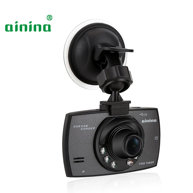 Full HD 1080P Night Vision Car Dvr Camera Recorder 24 Hours Parking Monitoring Dash Cam Built In G-sensor(China)