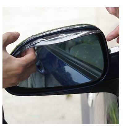 Car Rear View Mirror Rain Eyebrow Weatherstrip Auto Mirror Rain Shade Protector FOR BMW X1 X3 X5 X6 X4 M3 M4 M5 M6 325 328 F30
