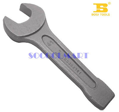 1Pcs Chrome Vanadium Steel 55mm Open End Slogging Wrench Gray Color xkai 14pcs 6 19mm ratchet spanner combination wrench a set of keys ratchet skate tool ratchet handle chrome vanadium