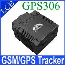 Plug & Play GPS306 Mini Perseguidor Del Coche OBD II GPS Tracker para Taxi/Gestión de Flotas de Vehículos de Apoyo IOS y Android APP Rastreador