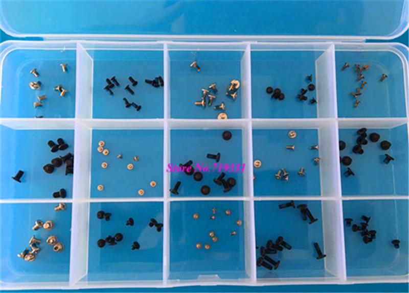 150Pcs=10 Kinds Precision Instruments Screw M1.2 *3 , M2*2, M2.5*3 for Camera Screws, Phone Screws, Tablet, Glasses Screws