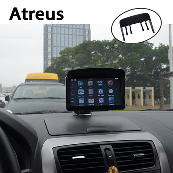 Atreus Universal 5''/ 7'' Car GPS Sun Shade Visor Shield Protective cover for Mercedes benz W204 W203 W211 AMG Mini cooper Skoda image