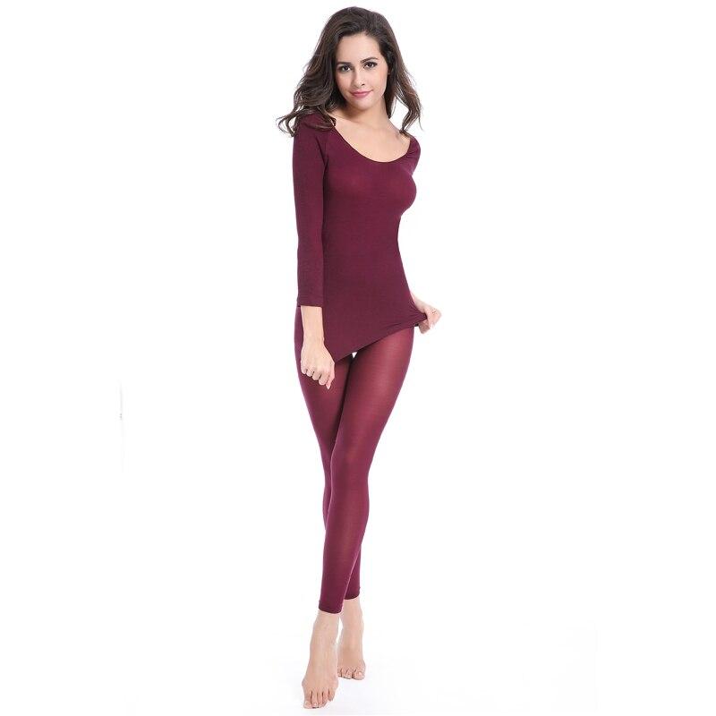 fde5e97befa Seamless Winter 37 Degree Women Slimming Thermal Underwear Ultrathin Heat  Long Johns Super Elastic Thin Body Suit For Women -in Long Johns from  Underwear ...