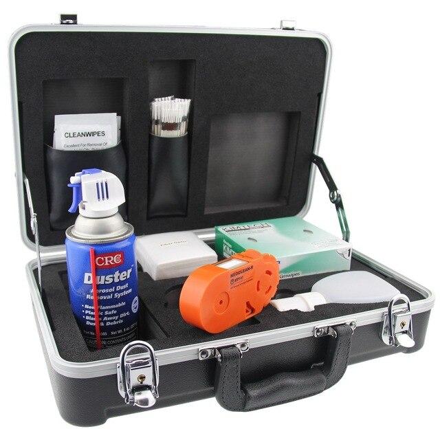 Kit de ferramentas de limpeza de fibra óptica KF 710C interface ntt limpador cotonete de algodão kit de ferramentas de limpeza do japão