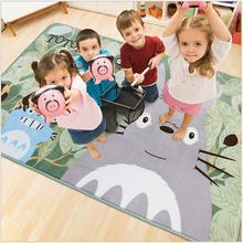 130X185 cm TOTORO de Dibujos Animados Los Niños Alfombras Home Puerta de Entrada Esteras antideslizantes Absorbentes Para la Sala de estar Dormitorio Sala de cocina