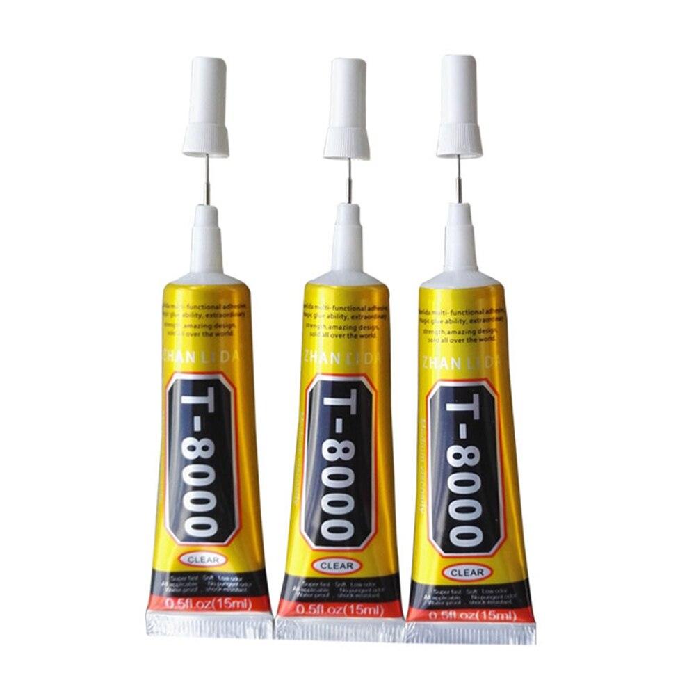 1 Pcs 15ml T8000 Repair Liquid Glue Multi Purpose Glue For Touchscreen Phone Frame Epoxy Adhesive LB88