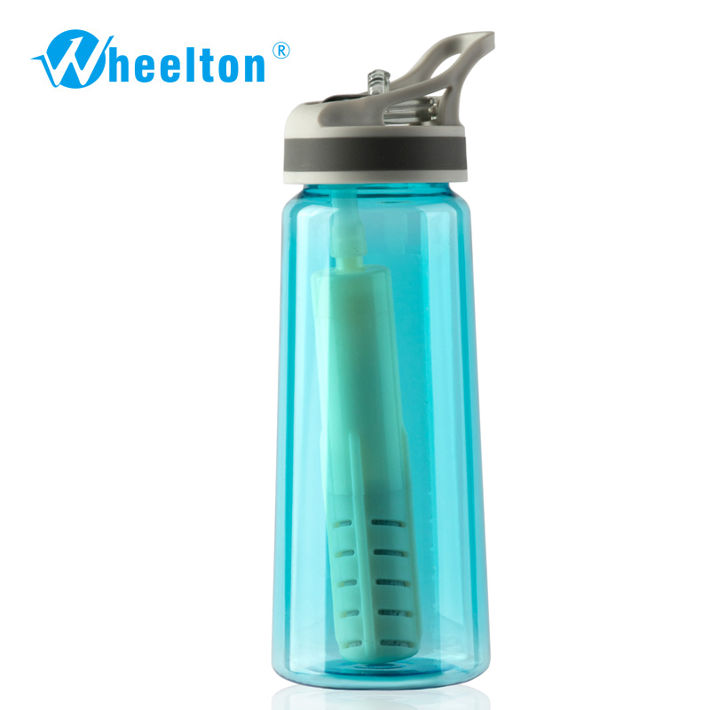 2017 Portable Water Filtration Bottle For Outdoor Purifer Offer Anion Alkaline Rich Oxygen Freeshipping