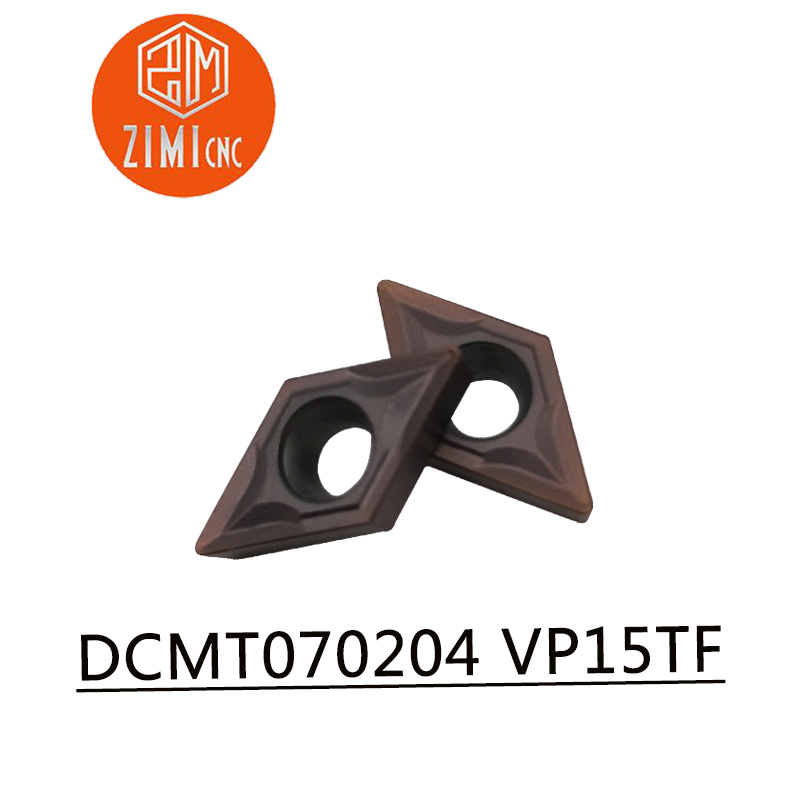 10 Pcs DCMT070204 VP15TF Internal Turning Tools Carbide inserts Cutting Tool CNC Tools Lathe tools Lathe cutter10 Pcs DCMT070204 VP15TF Internal Turning Tools Carbide inserts Cutting Tool CNC Tools Lathe tools Lathe cutter