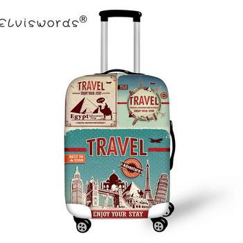 Travel on the Road bagaż pokrowce ochronne grube elastyczne torby na bagaż do 18 22 26 30 inch walizki wózki bagażowe Tagi bagażu tanie i dobre opinie Akcesoria podróżne Pokrowiec na walizkę i skórzane etykiety na bagaż PU Elastyczna tkanina 200g Z ELVISWORDS 50cm