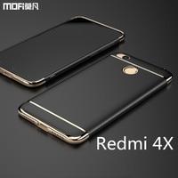 Redmi 4X Case Cover Hard Back Case MOFi Original Xiaomi Redmi 4x Cover Accessories Luxury 3