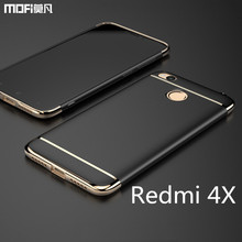 Redmi 4X case cover hard back case MOFi original Xiaomi redmi 4x cover accessories luxury 3 in 1  redmi 4x funda capa coque 5.0″