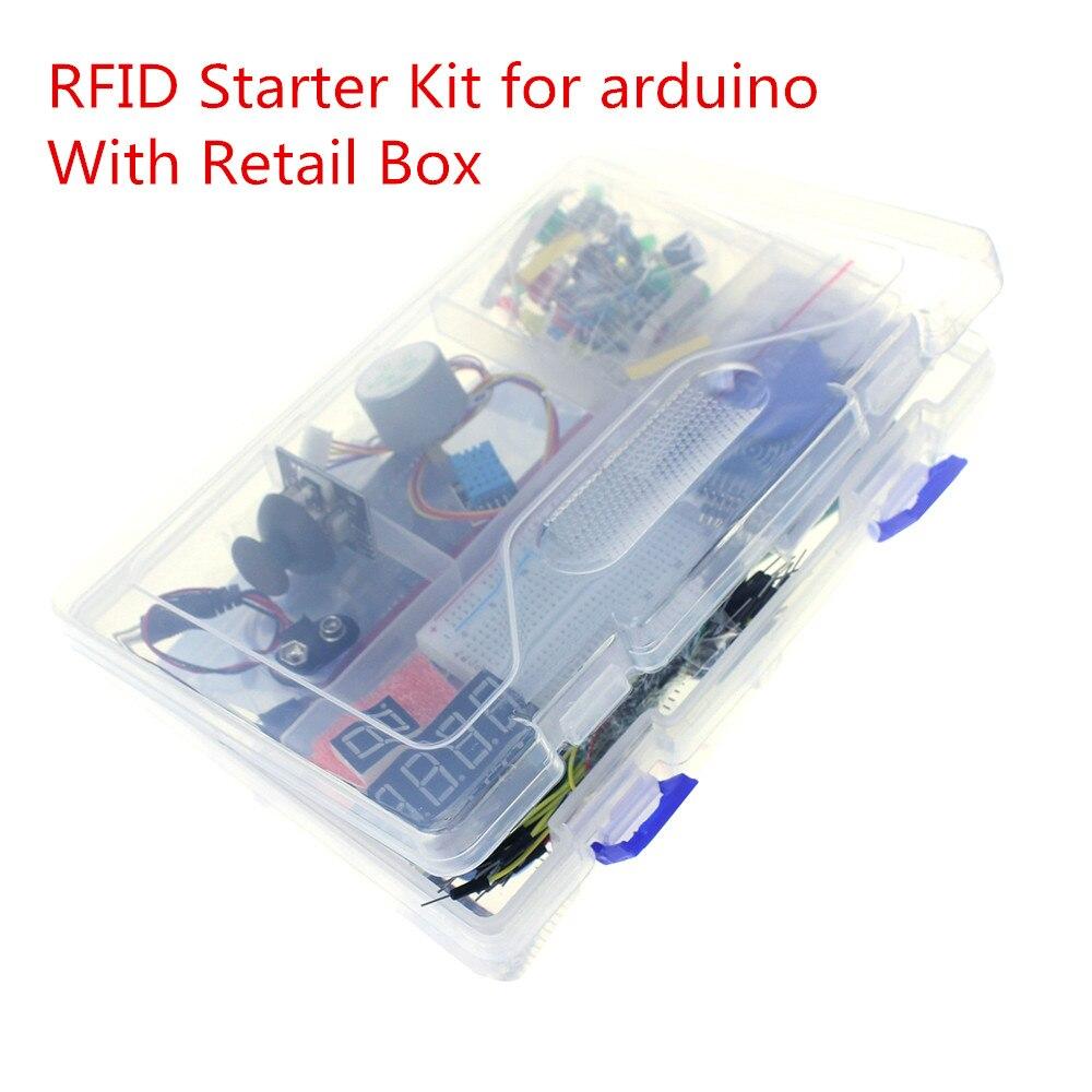 Новые RFID Starter Kit UNO R3 обновленная версия Learning Suite с розничной коробке UNO R3 Starter Kit для Arduino
