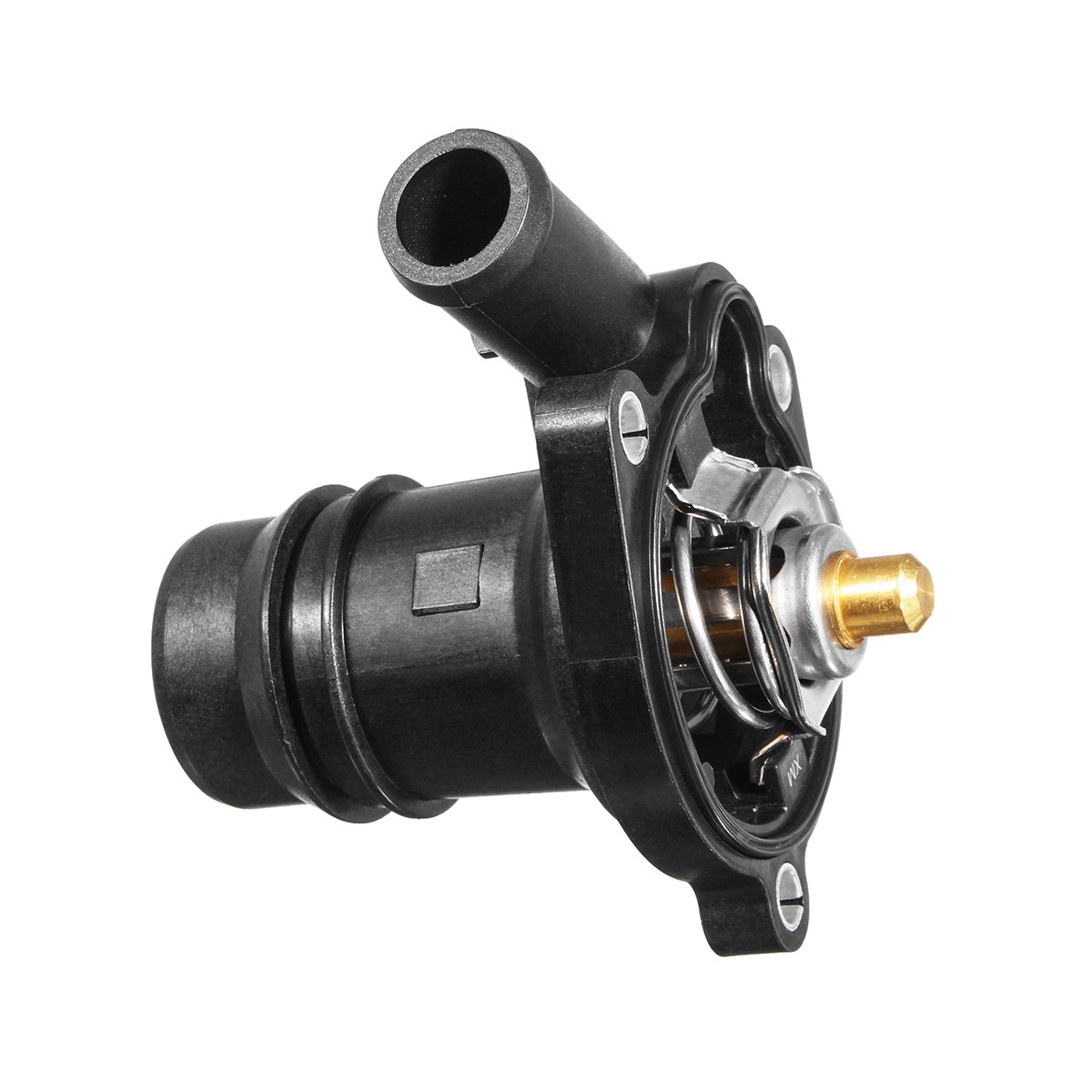 small resolution of engine coolant thermostat with housing replacement for chevrolet buick cruze sonic encore