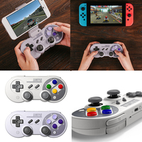 HobbyLane 8Bitdo SF30Pro SN30Pro Wireless Bluetooth Gamepad Joystick For Switch Android Rumble Vibration Motion Control d20
