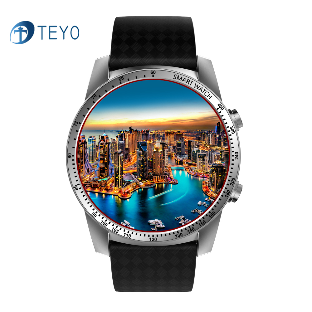 Teyo 3G Smart Watch KW99 Bluetooth Smartwatch Android Sports Watch Phone Heart Rate Tracker SIM Wifi Update from Smartwatch KW88