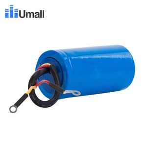 Image 4 - CD60 150UF 250V AC החל קבלים עבור כבד החובה חשמלי מנוע אוויר מדחס אדום צהוב שני חוטים