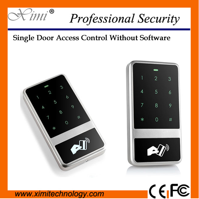 High Quality Ip65 Waterproof User Single Touch Keypad Access Control System M13D mini usb angled cable coiled usb a type male usb to mini usb male 90 degree 5pin b connector spiral stretch data cabel cord