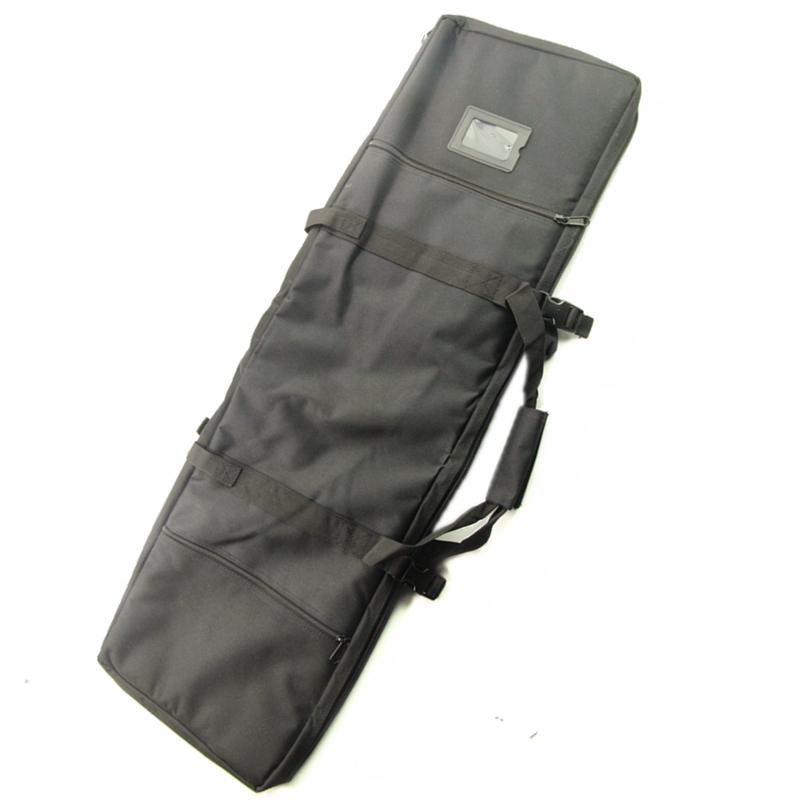 100cm Hunting Tactical Rifle Gun Bag Outdoor Sports Carrying Shoulder Bag Handlebag Case with Magazine Pouch 40'' Fishing Bags 0 85m heavy duty tactical gun slip bevel carry bag rifle case bag cover shoulder backup pouch hunting shotgun carrying case
