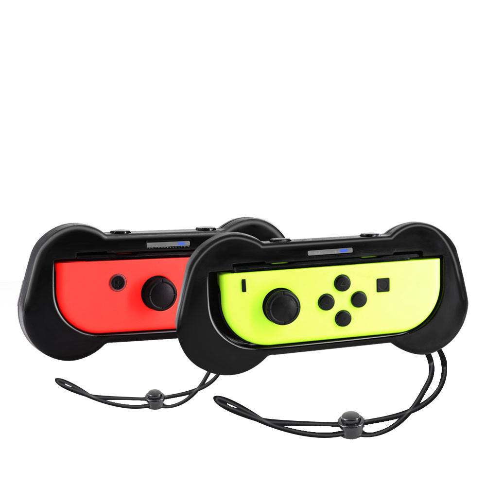 Image 2 - 2pcs Silicone Controller Grips Handle for Nintend Switch N Switch Joy Con Gamer Games Gaming Player Console Gamepads-in Gamepads from Consumer Electronics