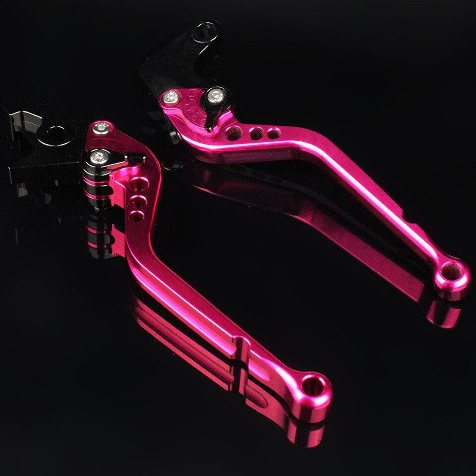 FXCNC Racing CNC Aluminum Short Adjustable Brake Clutch Levers for YAMAHA YFM700 Raptor 700 R 2008-2019 YFZ450 YFZ450R 2008-2018 YFM250 Raptor 2008-2010