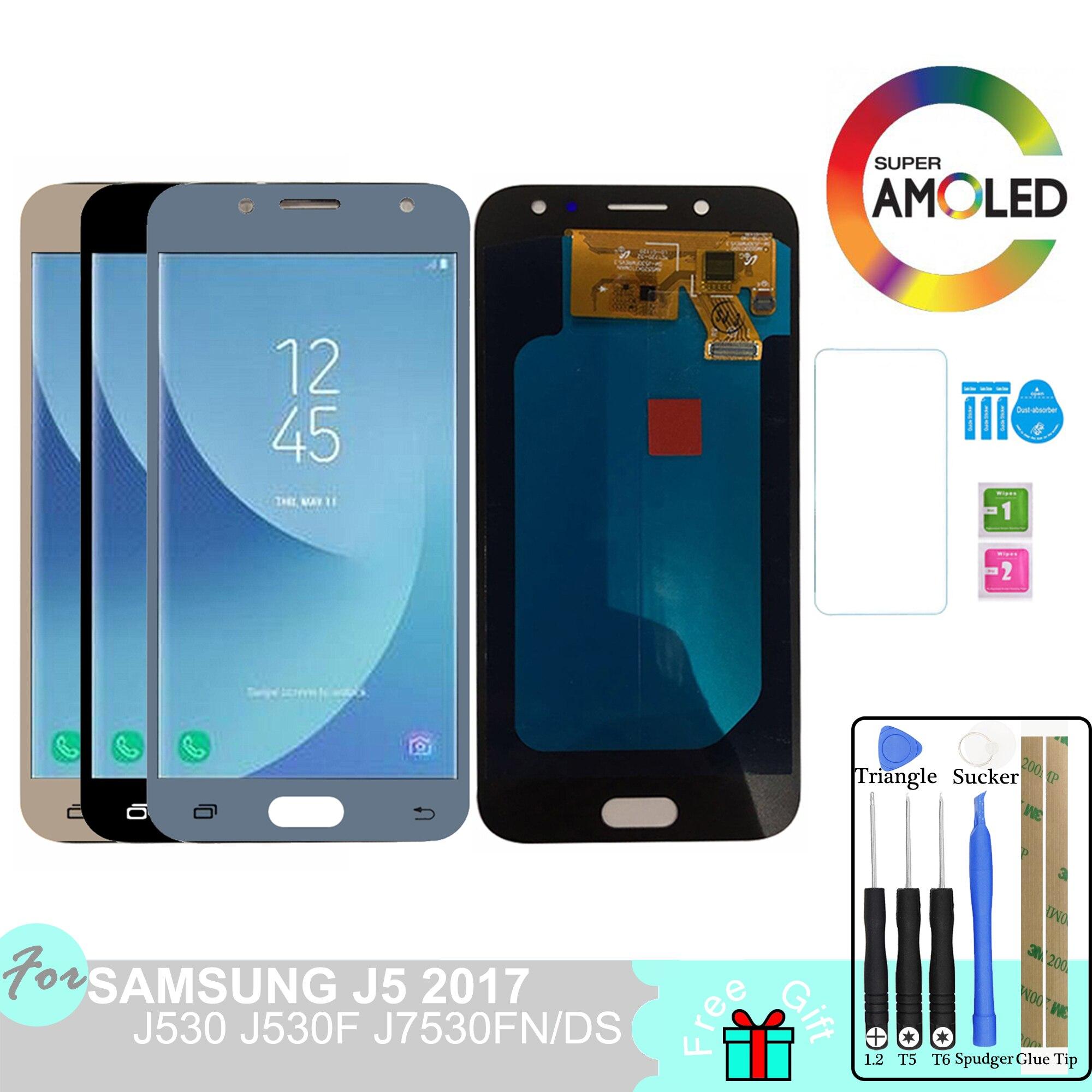 J530 LCD Super AMOLED pour Samsung Galaxy J5 Pro 2017 J530 J530F J530FN J530M écran tactile écran tactile Pancel SM-J530F/FN/M