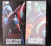 New Hot Crazy Toys Captain America Steven Steve Rogers Marvel The Avenger Superhero Age Of Ultron 9 Figure Toys New Box