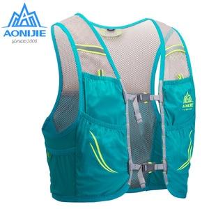 Image 2 - Рюкзак AONIJIE на 2,5 л с гидратацией, жилет с жгутом, походный ранец для бега, марафона, скалолазания