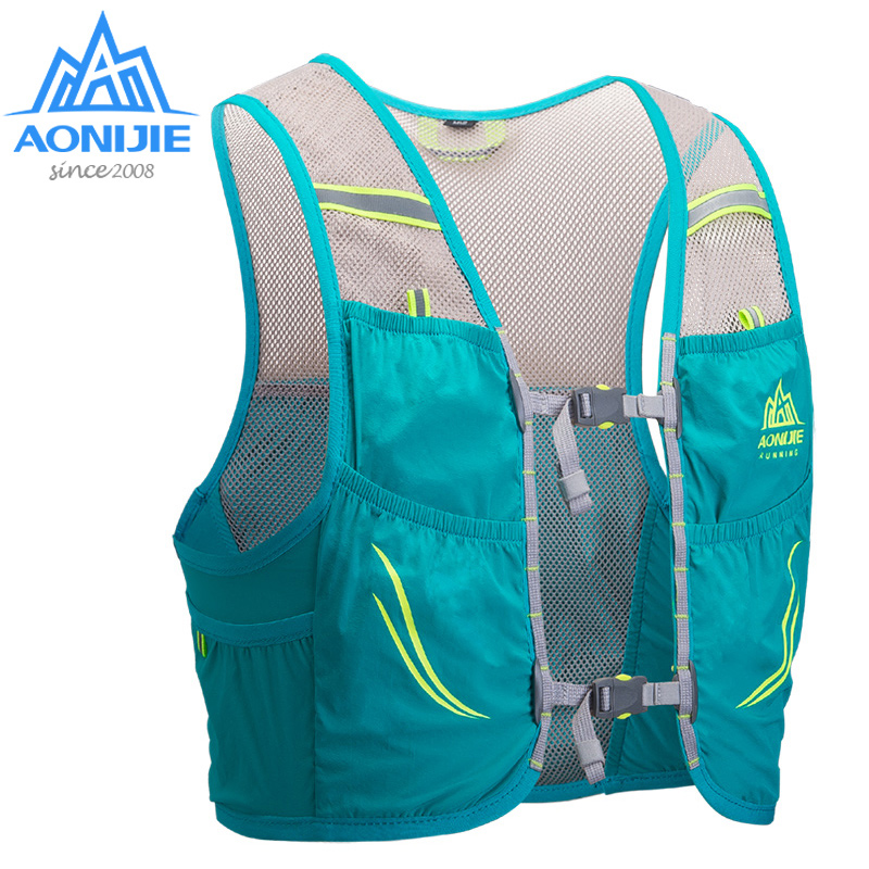 AONIJIE C932 Hydration Pack Backpack Rucksack Bag Vest Harness Water Bladder Hiking Camping Running Marathon Race Climbing 2.5L