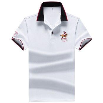 Camiseta Polo YIHUAHOO para Hombre, camiseta de verano de manga corta de poliéster de alta calidad para Hombre, jerséis de marca, Polo para Hombre, talla M-4XL, JCP-732