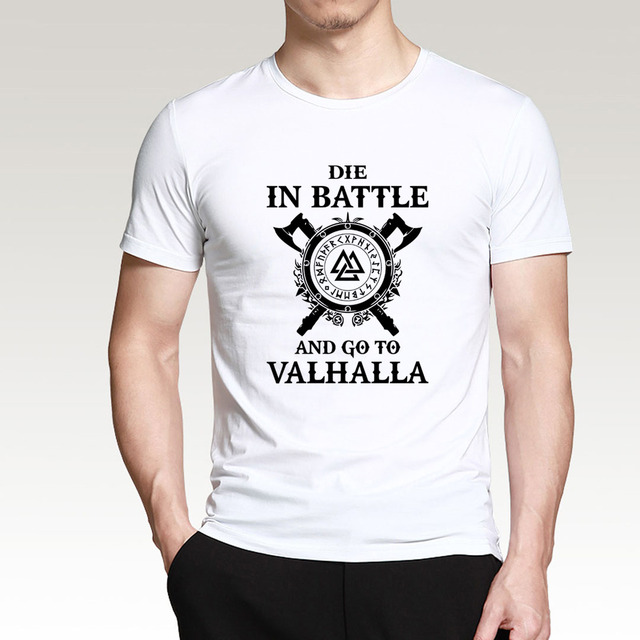 VIKING DIE IN BATTLE T-SHIRT (17 VARIAN)