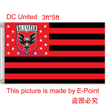 USA MLS DC United hanging decoration Flag 3ft*5ft (150cm*90cm)