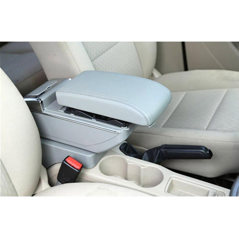 Подлокотник коробка для Honda CR-Z CRZ центральной консоли Arm хранить содержимое коробки обладатель Кубка пепельница с ростом и вниз Функция стайлинга автомобилей - Color Name: Gray