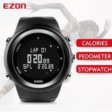 Free Shipping EZON T023 Running Sport Watch Pedometer Calorie Monitor Digital Watch Outdoor Running Sports Watches Waterproof цена и фото