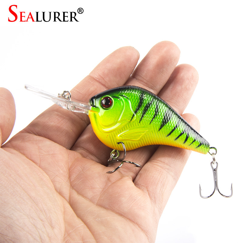 Lifelike 3D Eyes Fishing Lure 9.5CM 11G High Quality Treble hook Artificial Hard Bait Treble Hook Crankbait 5 Colors Available kogee tramps lily tramps 10 3 0