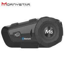 1000m Bluetooth Citofono Del Casco del Motociclo Cuffie per 2Rider BT Senza Fili Walkie Talkie Moto Stereo Interfono MP3 GPS FM radio