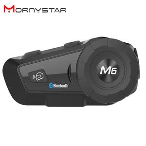 Image 1 - 1000m Bluetooth Intercom Motorcycle Helmet Headsets for 2Rider BT Wireless Walkie Talkie Moto Stereo Interphone MP3 GPS FM Radio