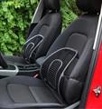 Hot Sale Protect the waist Black Mesh Cloth Car Seat Cushion Lumbar Waist Back Support Lumbar Pillow  2016