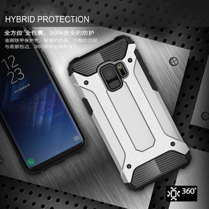 Armor Coque Cover 5.77For Samsung Galaxy S9 Case For Samsung Galaxy S9 Dual G960F G960U G960W G9600 Phone Back Coque Cover Case(China)