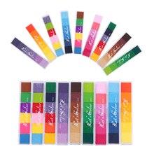 1 шт. новейший нетоксичный градиентный Цветной чернильный коврик DIY Art Inkpad резиновый штамп на масляной основе для печати пальцев хороший подарок для штамп для детей