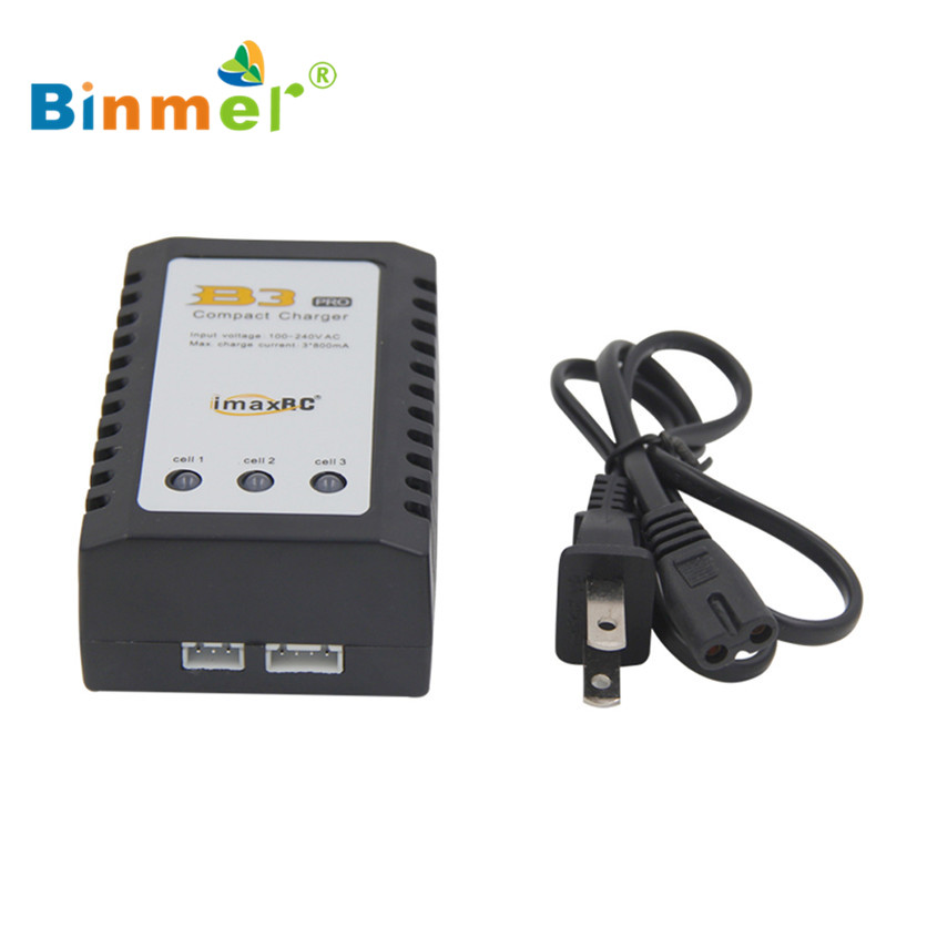 SimpleStone  Binmer Simplestone iMaxRC iMax B3 Pro Compact 2S 3S Lipo Balance Battery Charger For RC Helicopter Nov17