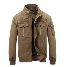 2016 Hot men outwear AFS JEEP army jacket men zipper multi-pockets stand collar brand US military jacket men chaqueta hombre