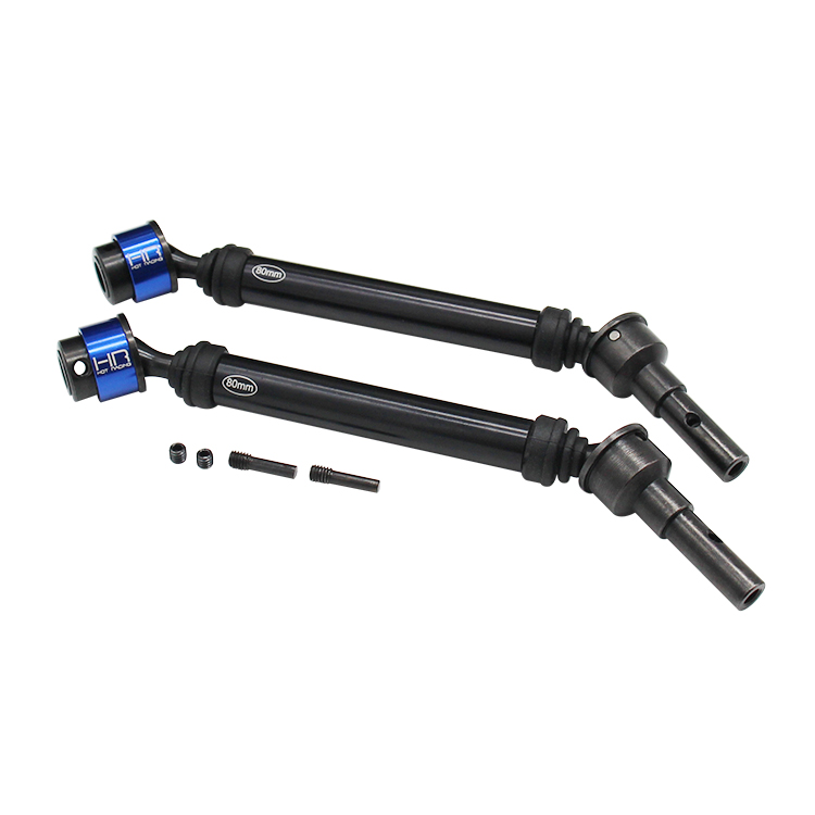 Hot Racing Metal Lightweight CVD Drive Shaft Universal Joint With Dust Jacket for 1/10 Traxxas E-Revo ERevo 2.0 RC Car Parts цена 2017