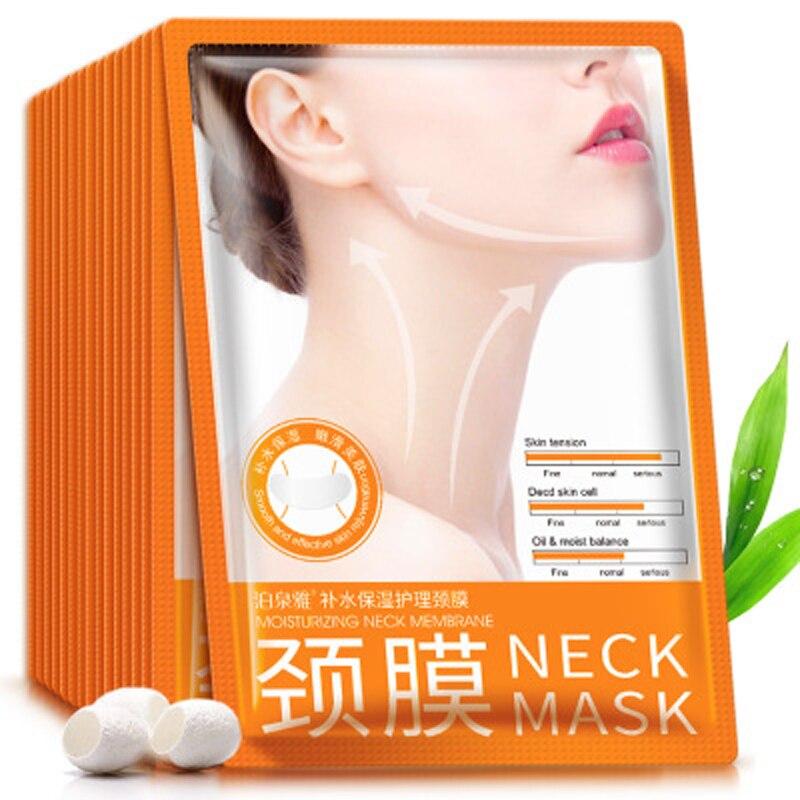 New BIOAQUA Neck Mask Hyaluronic Acid Lifting Firming Anti Aging Powerful Moisturizing Nourish Neck Cream Skin Care